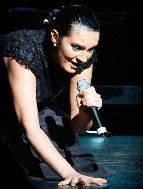 Певица Елена Ваенга в московском Театре Эстрады © Роман Данилин' 2009 / www.romaha.su