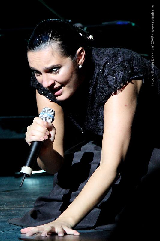 Елена Ваенга фото 6 в Театре Эстрады © Роман Данилин' 2009 / www.romaha.su
