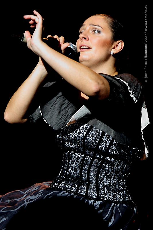 Елена Ваенга фото 7 в Театре Эстрады © Роман Данилин' 2009 / www.romaha.su