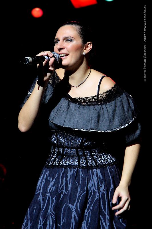 Елена Ваенга фото 8 в Театре Эстрады © Роман Данилин' 2009 / www.romaha.su