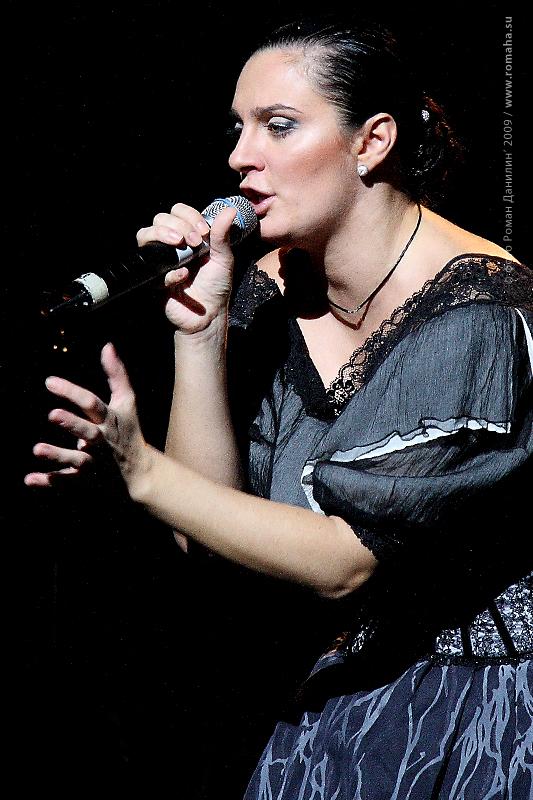 Елена Ваенга фото 9 в Театре Эстрады © Роман Данилин' 2009 / www.romaha.su