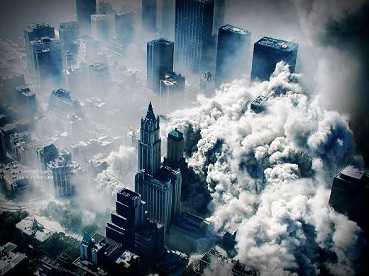 Падение Башен-близнецов 9 сентября 2001 года / Det. Greg Semendinger / NYPD, ABC News via AP