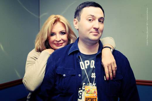 "Катерина Голицына и Роман Данилин. Фестиваль ""Эх, Разгуляй!"" 2011 / © фото Роман Данилин' 2011 / www.romaha.su"