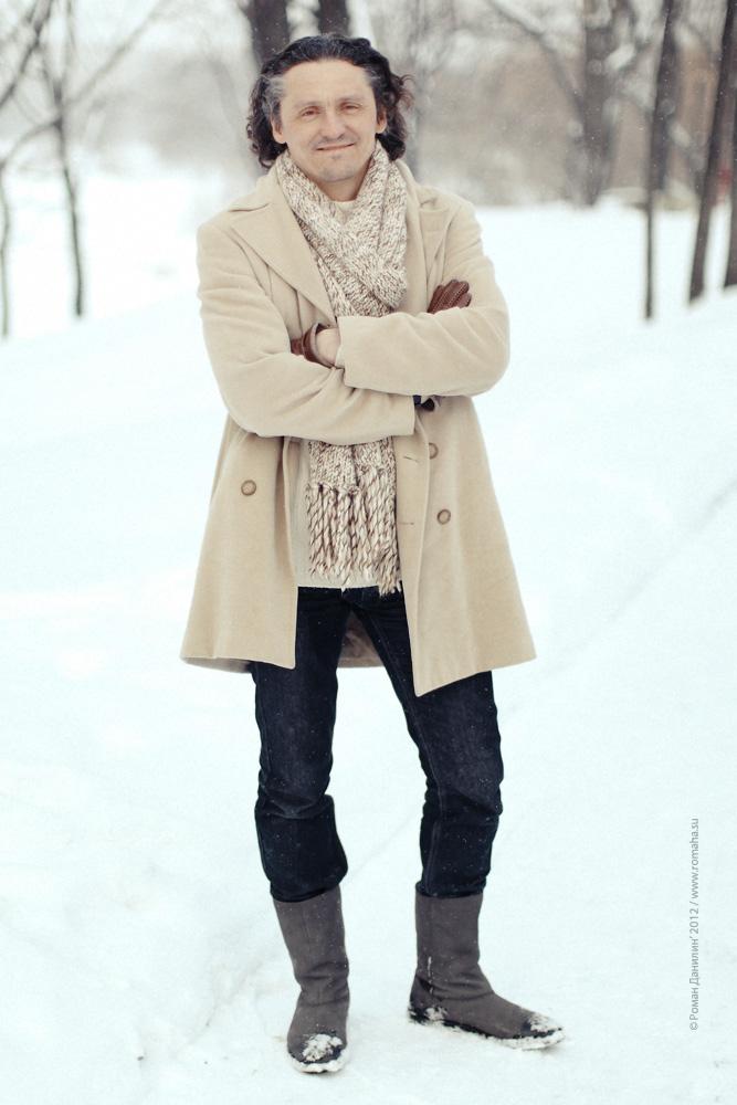 "Михаил Бондарев на съёмках клипа ""К тебе иду"" / © фото Роман Данилин' 2012 / Www.romaha.su"