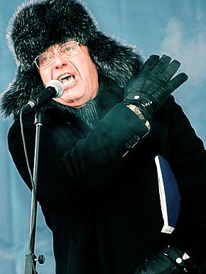 Сергей Кургинян на митинге 4 февраля 2012 года