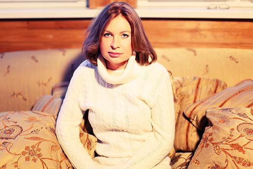 """Катерина Голицына. На съёмках клипа """"К тебе лечу"""". © фото Роман Данилин' 2012 / www.romaha.su"""
