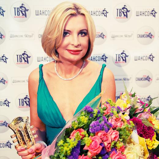 Катерина Голицына. Премия Шансон года 2012 / © фото Роман Данилин' 2012 / www.romaha.su