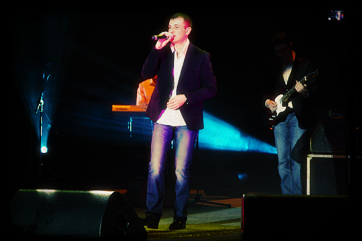 "Макс Азаркин. Концерт ""Легенды шансона"" в Серпухове 23 марта 2012 / © фото Роман Данилин' 2012 / www.romaha.su"