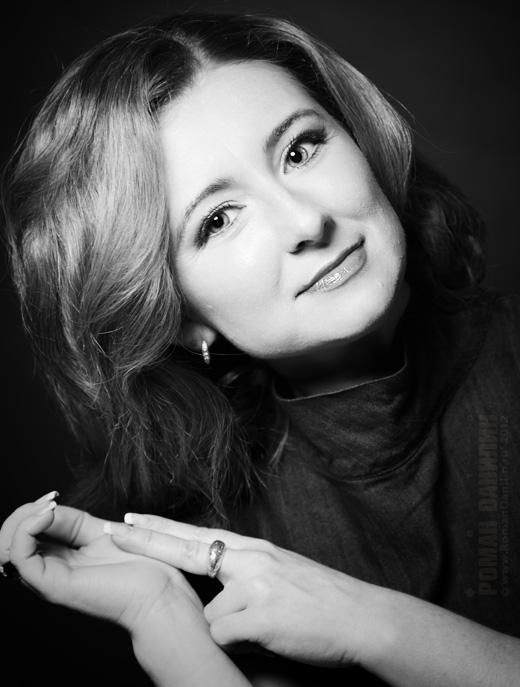 Чёрно-белая фотосессия. © фото Роман Данилин' 2012 / www.RomanDanilin.ru