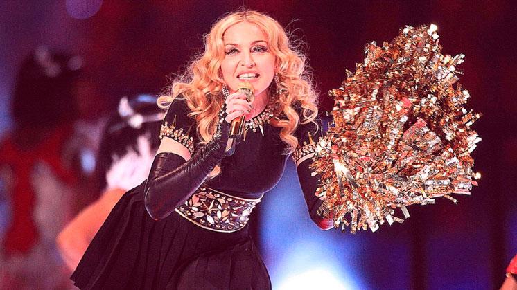 Мадонна в Олимпийском