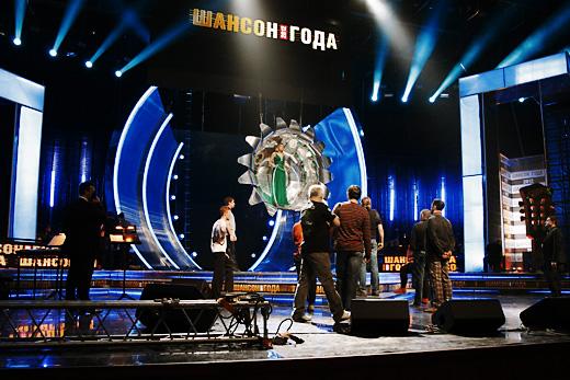 Катерина Голицына. Репетиция Шансон Года в Кремле © фото Роман Данилин' 2012 / www.RomanDanilin.ru