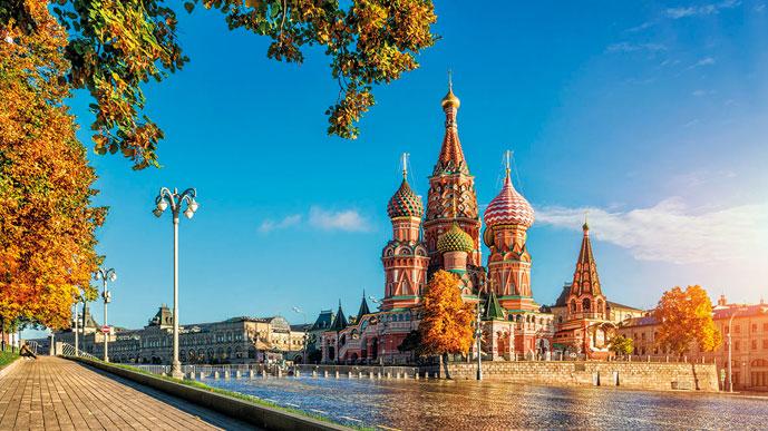 Осень пришла в Москву