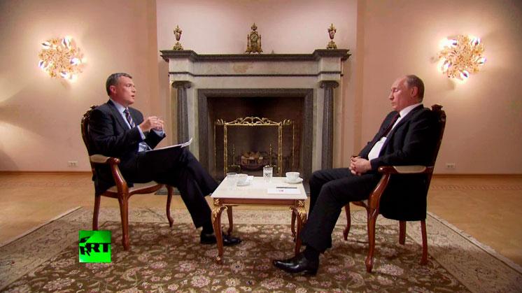 Владимир Путин: эксклюзивное интервью