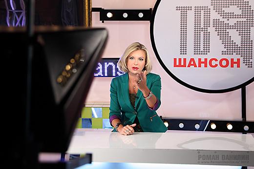 Катерина Голицына - ведущая телеканала Шансон ТВ © фото Роман Данилин' 2012 / www.RomanDanilin.ru