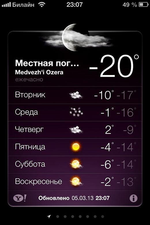 Зима не отпускает. На градуснике минус двадцать