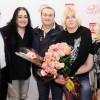 Михаил Бондарев, Игорь Наджиев, Валерий Курас с поклонницами