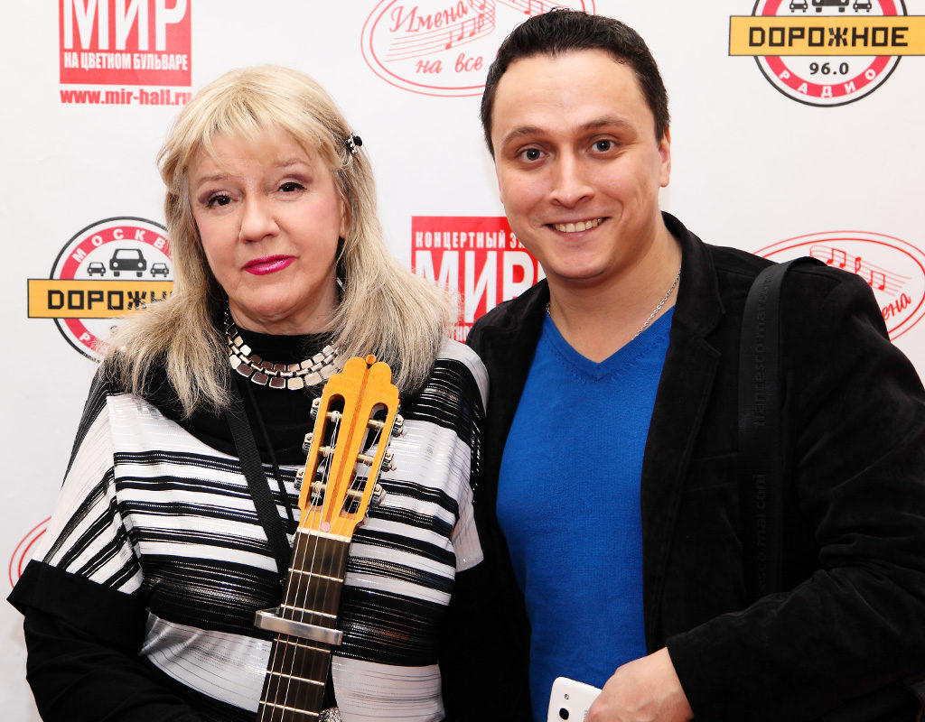 Жанна Бичевская и Иван Ильичёв